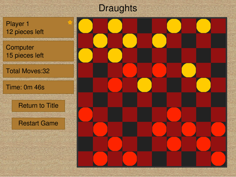 Draughts Chris Johnson
